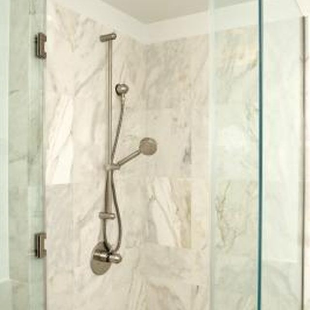 How To Install Cultured Marble Panels On Your Shower Walls Ehow Cultured Marble Shower Marble Showers Cultured Marble Shower Walls