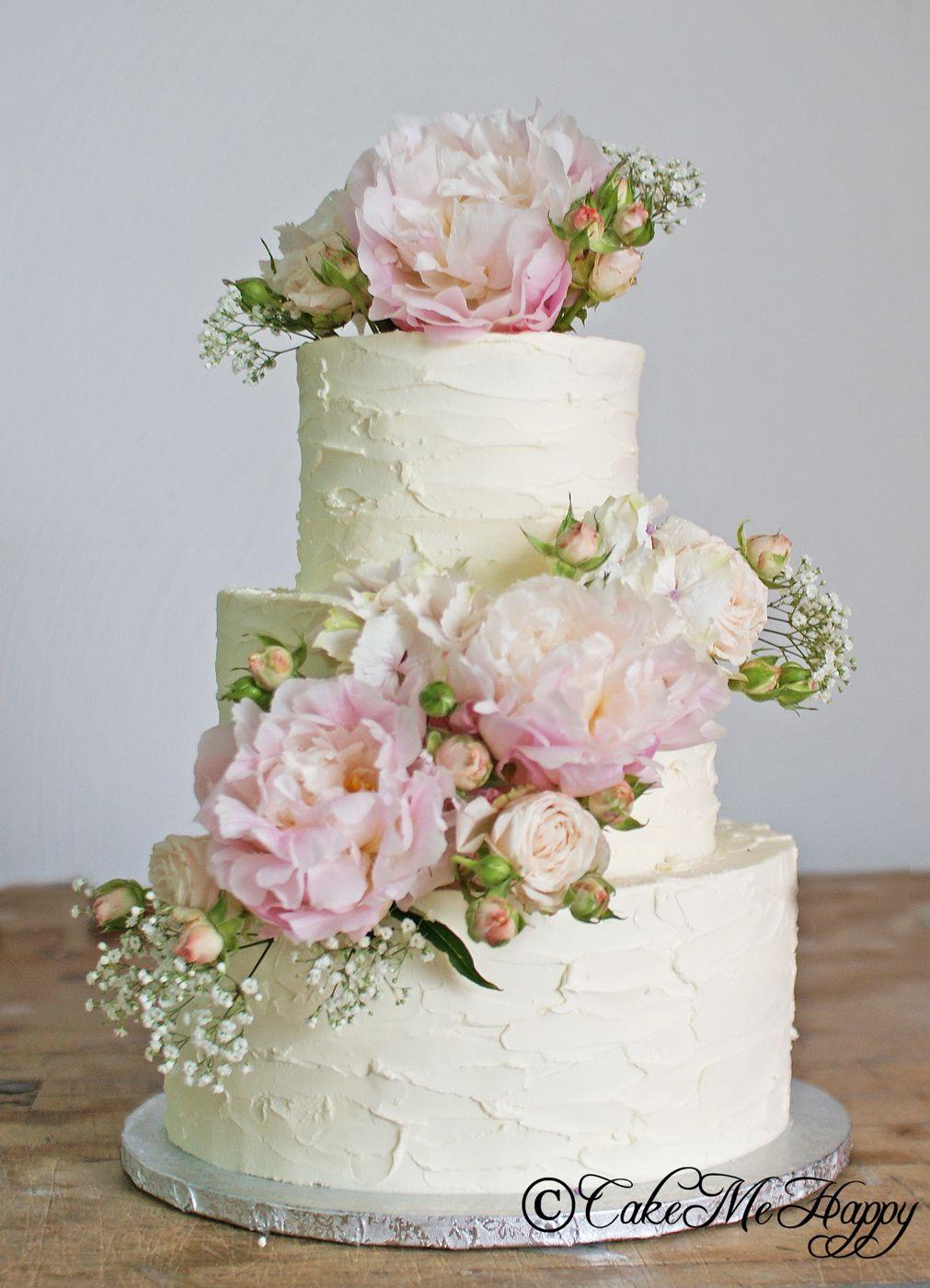 6b2794b02cce Bildresultat för bröllopstårta med färska blommor | Bröllopstårtor ...