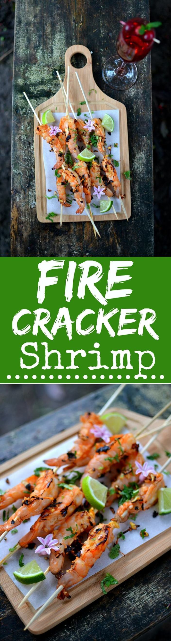 A Sparkling Finish: Firecracker Shrimp - Spice in the City