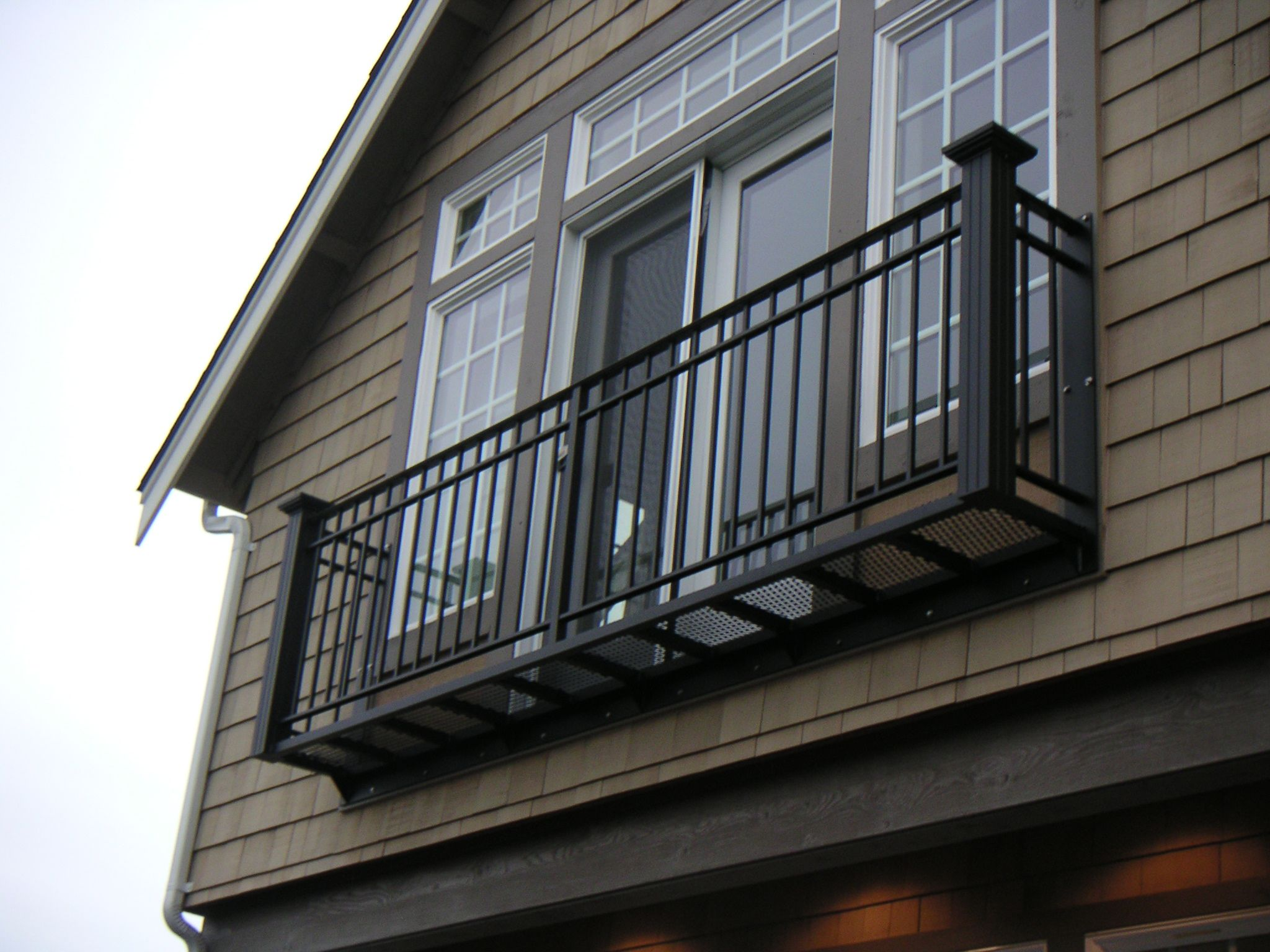 Rail Pro Bolt On Aluminum Balconies Juilette Style