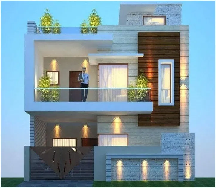 25 Awesome Modern Tiny Houses Design Ideas For Simple And Comfortable Life Small House Design Exterior Bungalow House Design Small House Elevation Design