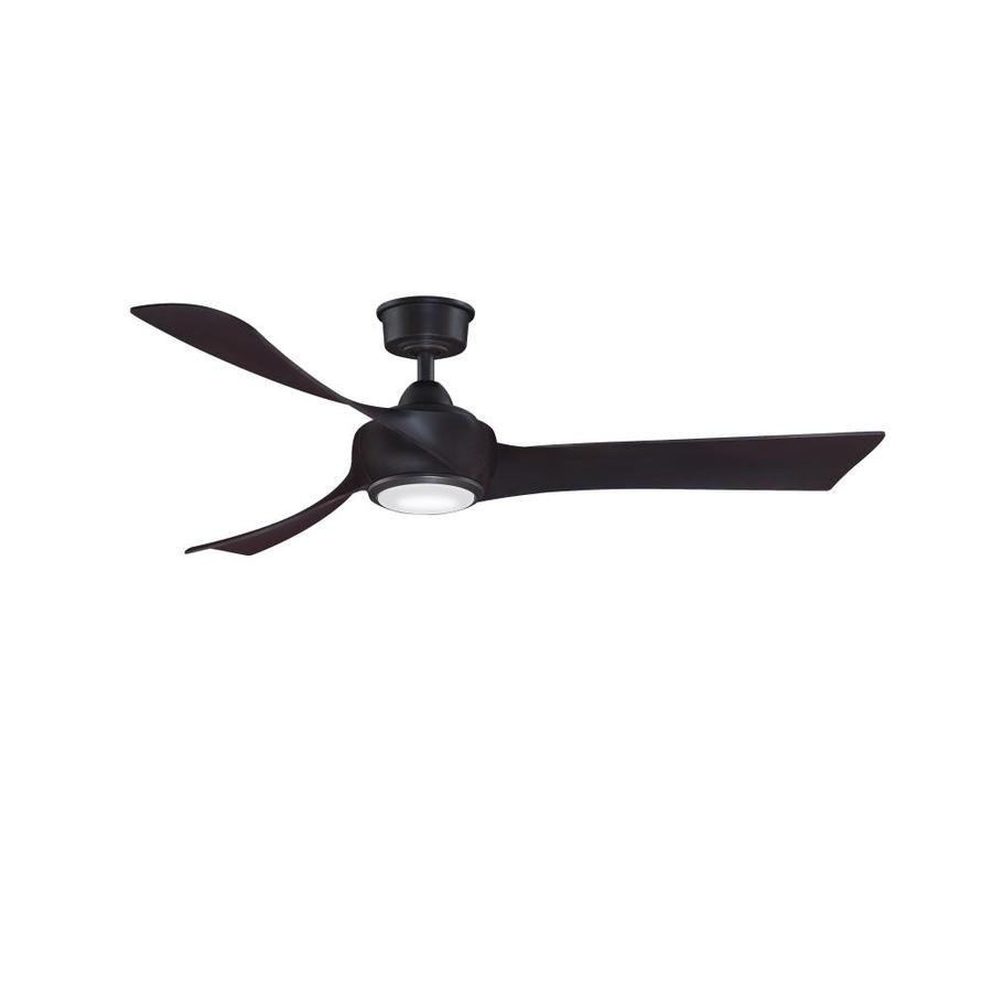 Fanimation Wrap Custom 56 In Bronze Led Indoor Outdoor Ceiling Fan