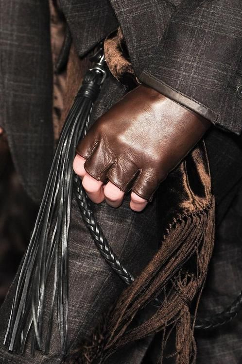thestylebuff:  Detailed photos of John Varvatos Autumn (Fall) / Winter 2013 men's