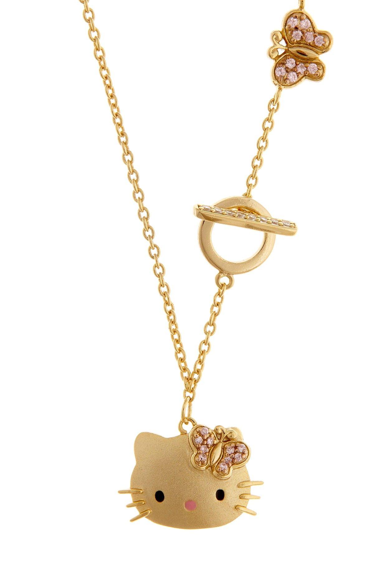 Hello Kitty Toggle Necklace Women Jewelry Jewelry Pinterest