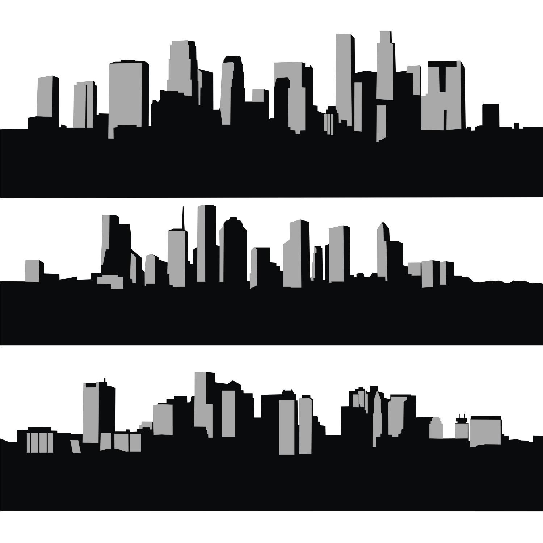 Vector For Free Use City Skyline Animacao