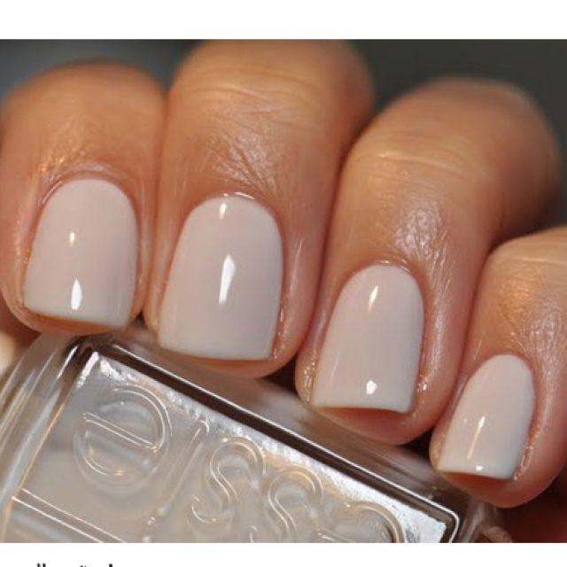 Marshmallow by Essie | Nails | Pinterest | Esmalte, Diseños de uñas ...