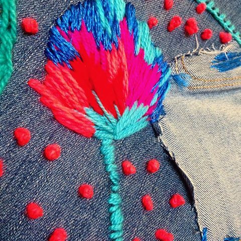 French knot galore