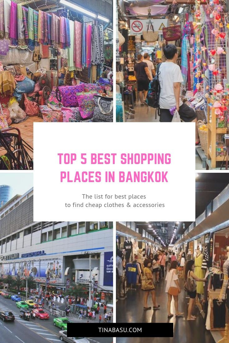 5 best Shopping places in Bangkok for cheap clothes and accessories - |  Places in bangkok, Bangkok shopping, Shopping places
