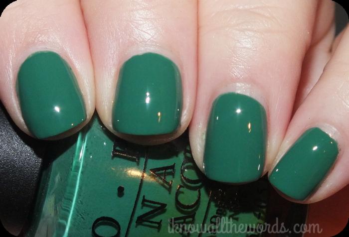 the fall edit- green nail polish | OPI, Green nail and Opi polish