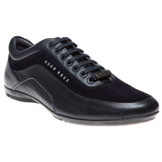 5424e9cde1 Mens Blue Boss Speron X Mercedes Benz Collection Trainers at Soletrader