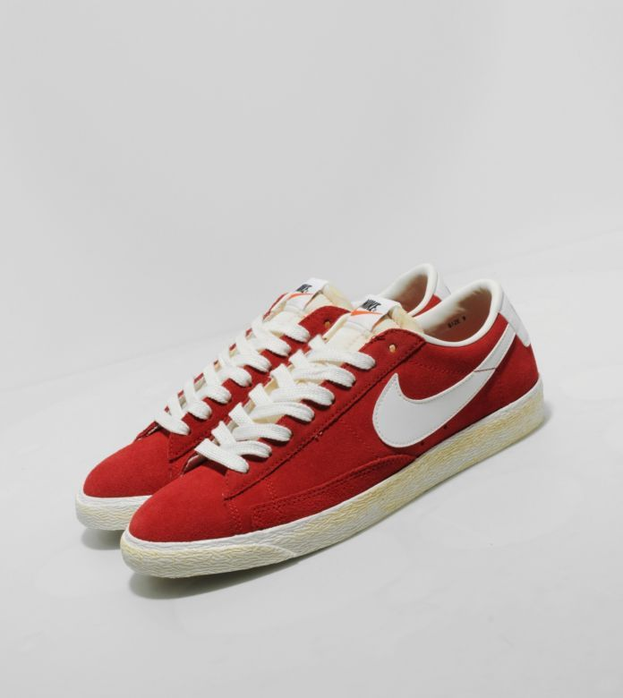 Buy  Nike Blazer Low Vintage Suede - Mens Fashion Online at Size?