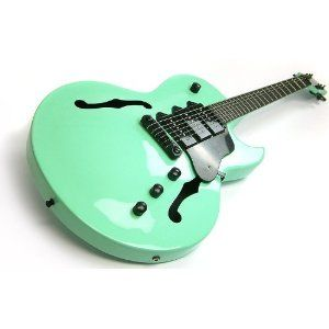 Mint Green Acoustic Guitar Sephoracolorwash Semi Acoustic