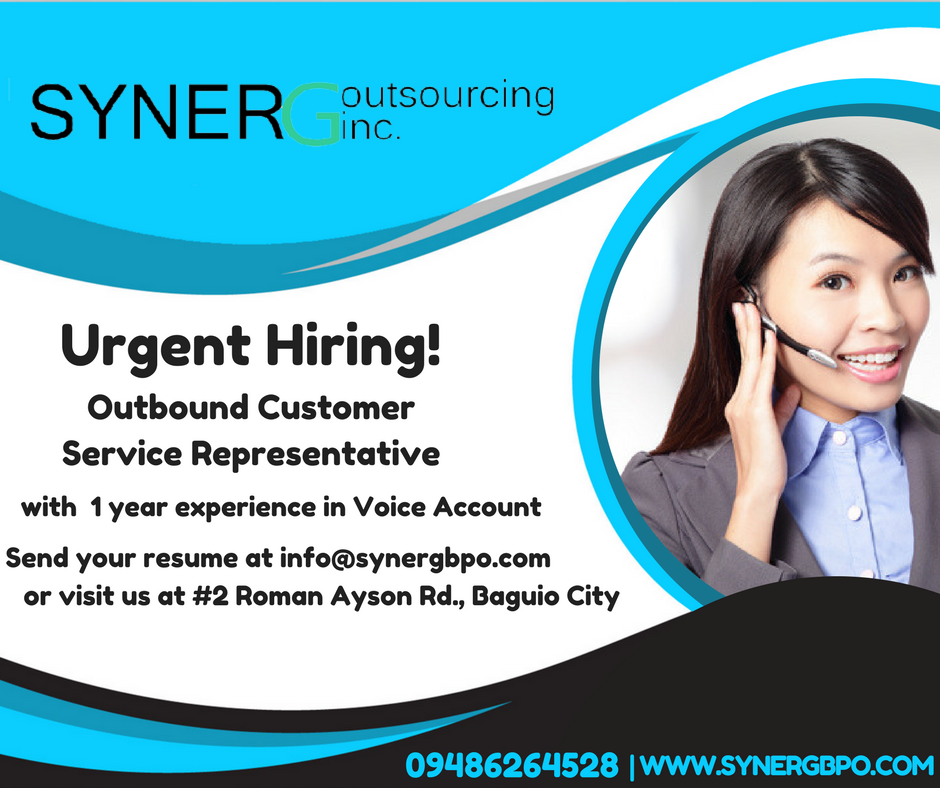 Syner G Outsourcing Inc. is not your typical call center