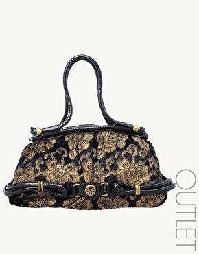 Mischa Barton Stardust Velvet Shoulder Bag