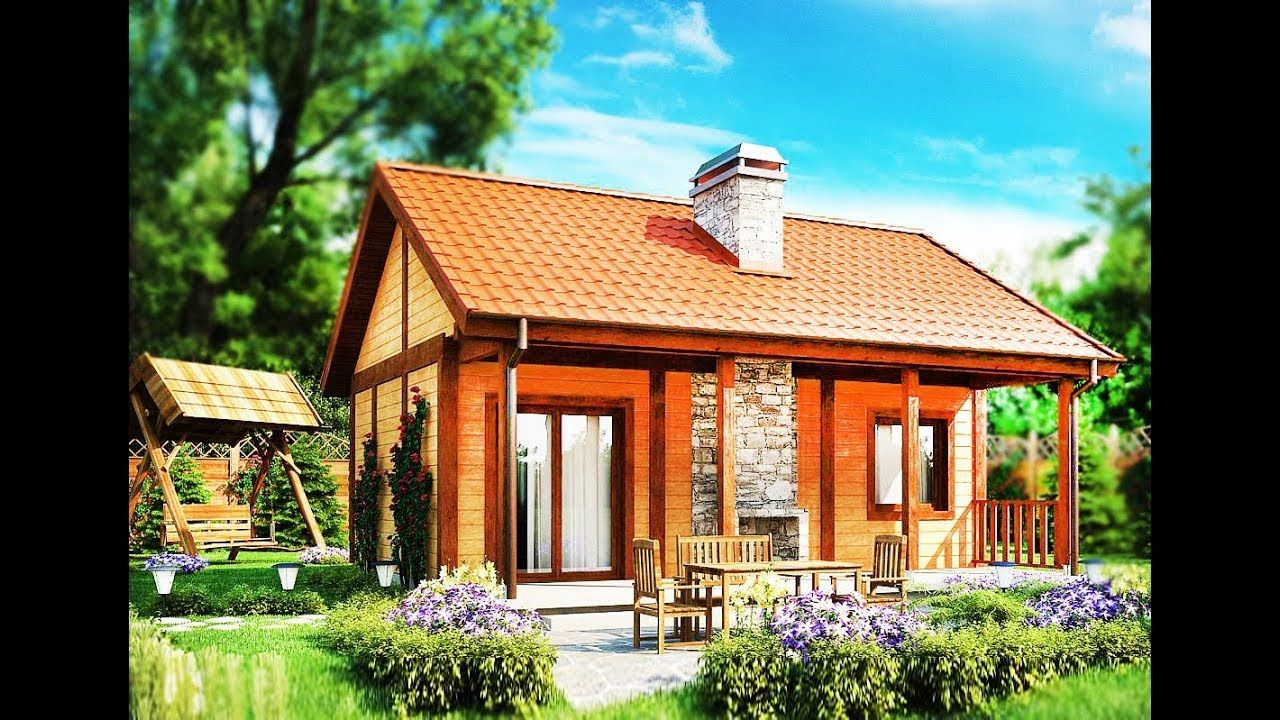 38m A Cozy Small Home Built Fast Cheap Construction Costs With Wood Small House Cheap Houses To Build Tiny House Big Living