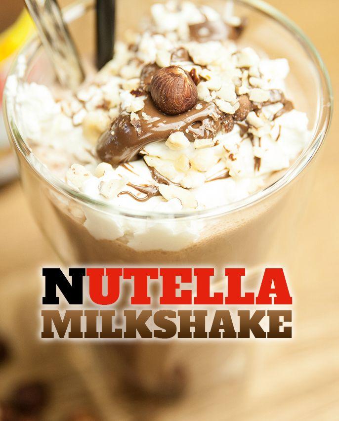 nutella milkshake von yasilicious nutella liebe pinterest milchshake nutella und getr nke. Black Bedroom Furniture Sets. Home Design Ideas