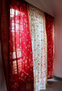 Reuse Recycle Decor Saree Saga Diy Curtains Indian Home Decor