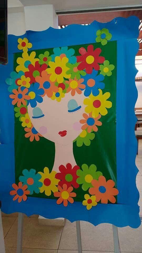 Decoraci n de puertas mes de mayo materiales del maestro for Puertas decoradas para el 10 de mayo