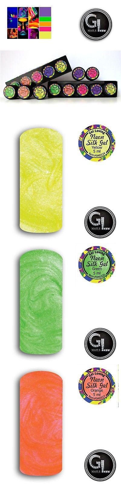 Cuticle Treatments: Kit Neon Silk De Gel Para Efecto De Seda (Con 5 ...