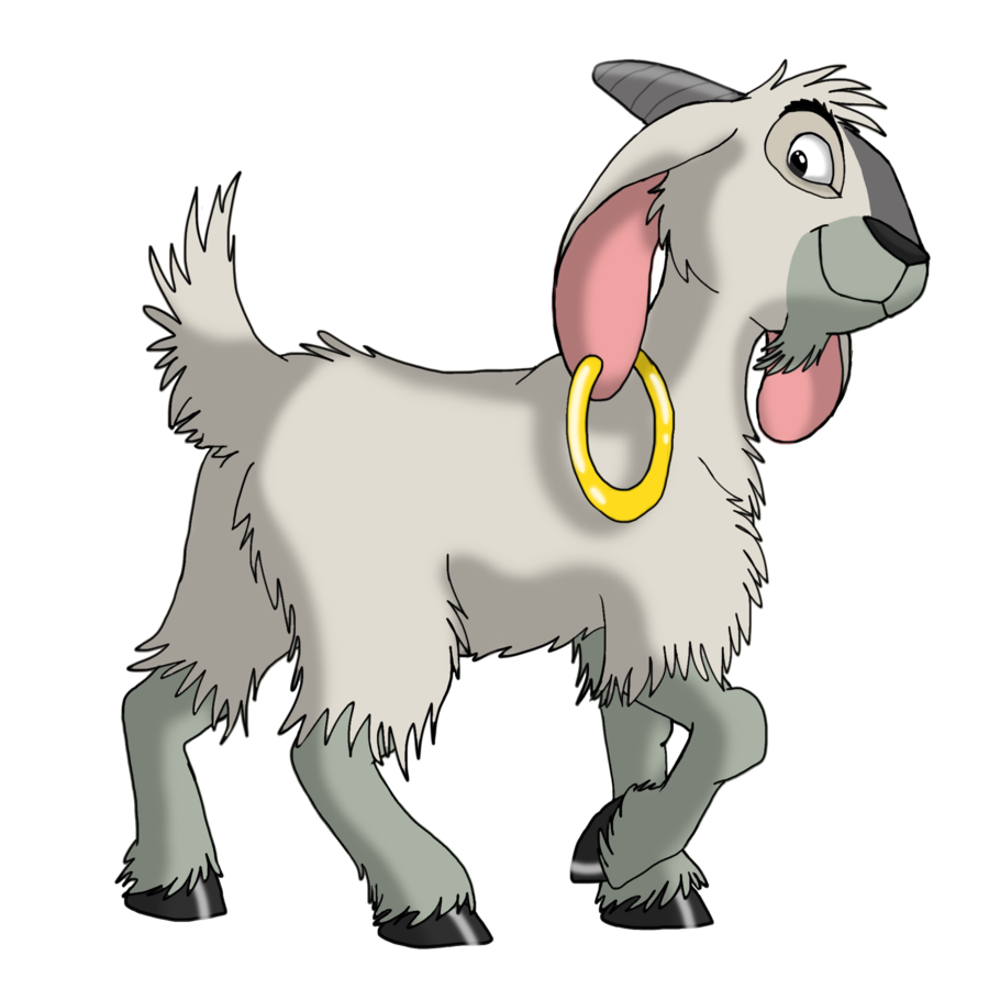 The Faithful Goat By Ifoxspirit On Deviantart Cute Disney Drawings Disney Mural Disney Drawings
