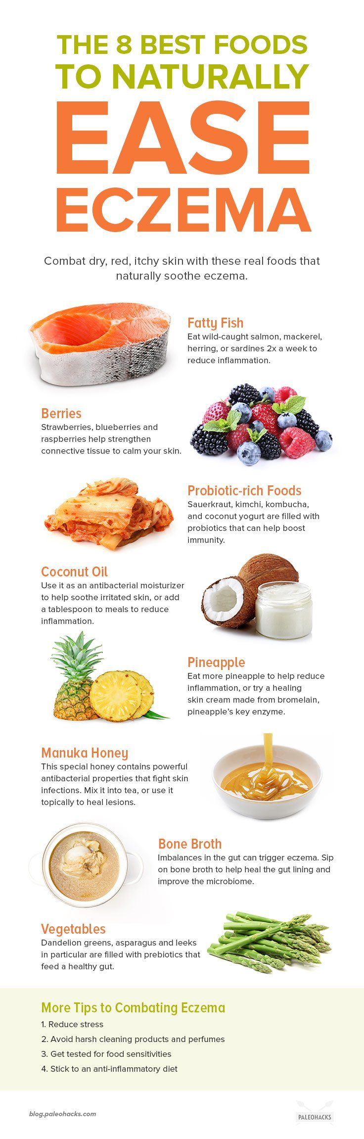 8 Foods to Soothe Your Eczema And 8 Trigger Foods to