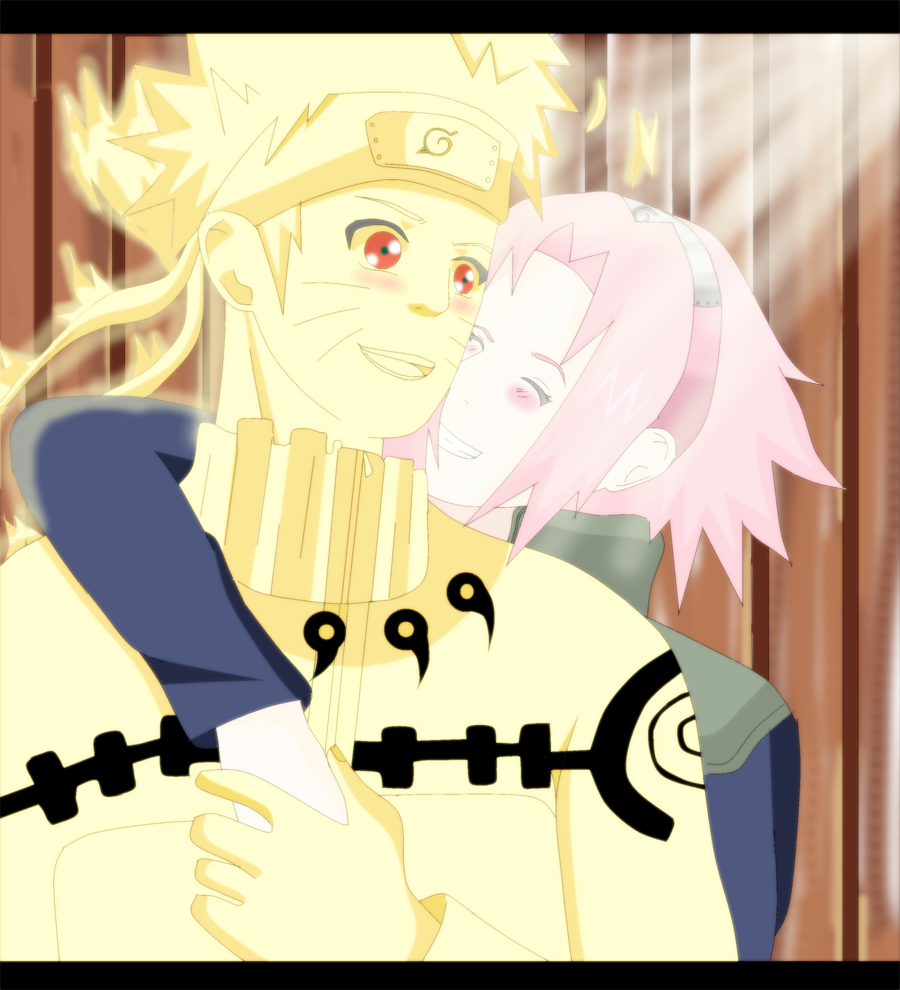 Narusaku you are my Light by ~narutoo17 on deviantART