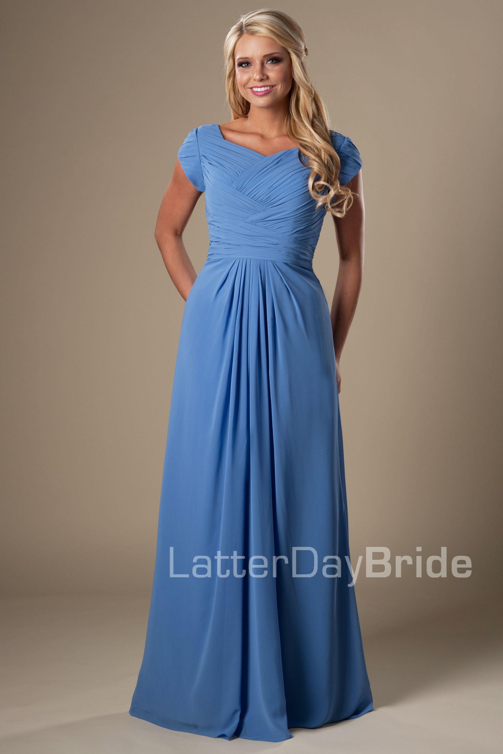 Único Vestidos De Fiesta Modestos En Utah Ideas Ornamento ...