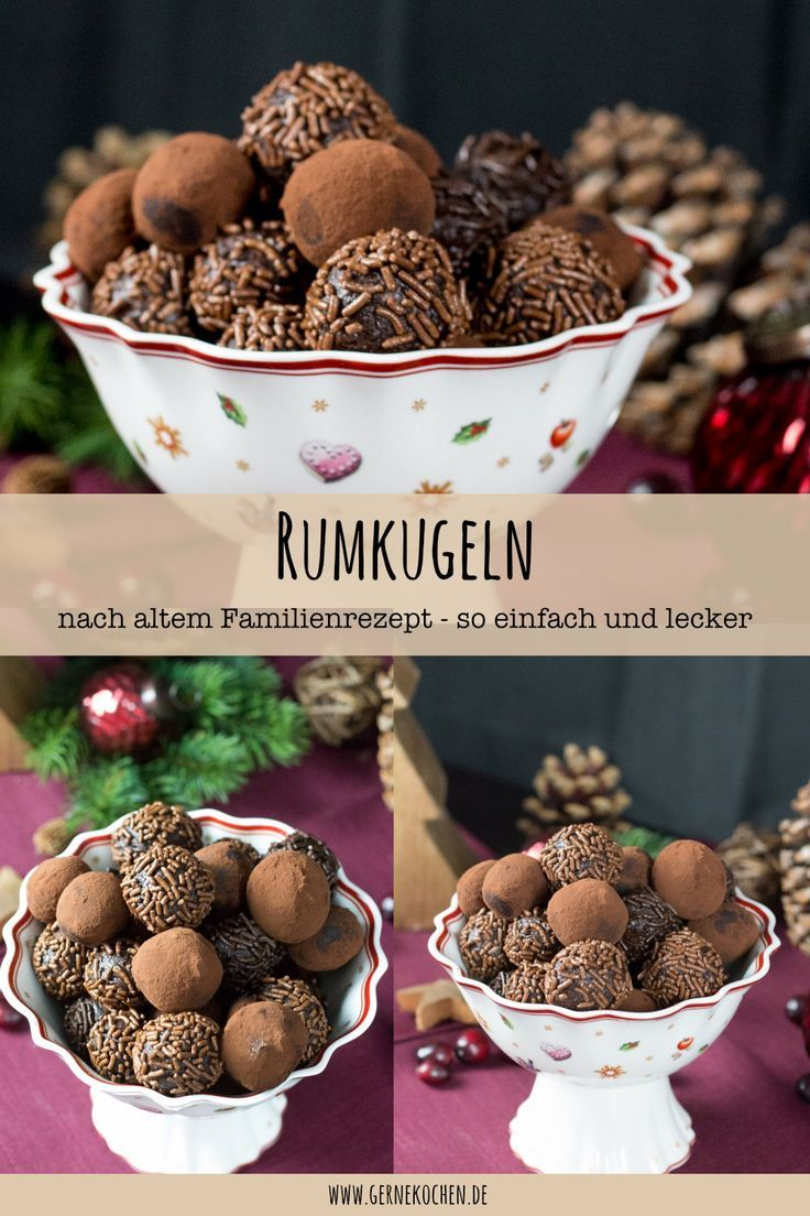 Rumkugeln Rezept: - Altes Familienrezept - gernekochen.de