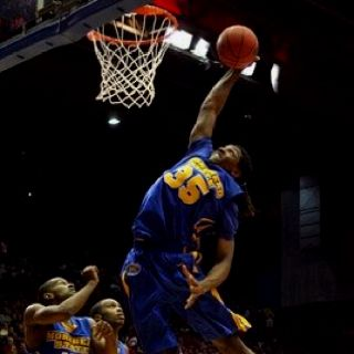Kenneth Faried!!!! The BEST college rebounder since 1973!