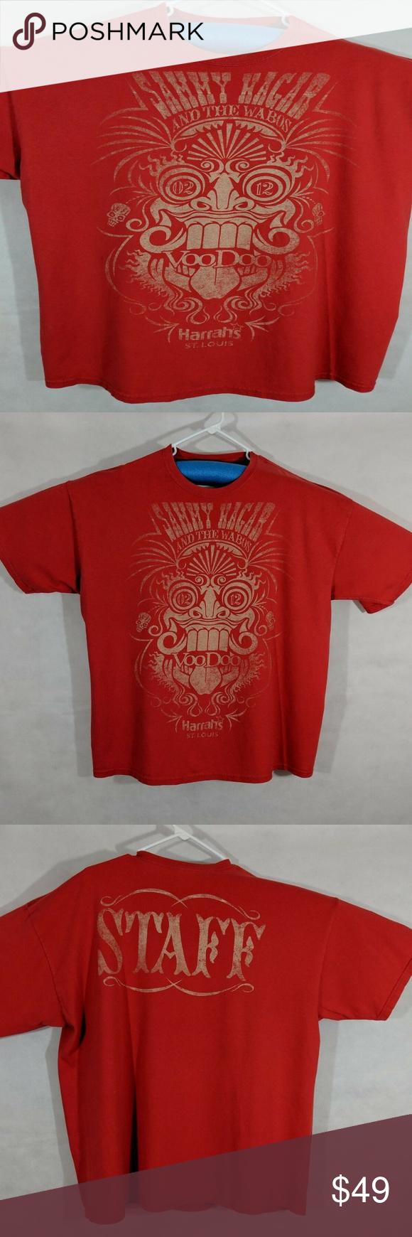 Sammy Hagar Wabos Voodoo 2012 St Louis Clothes Design Red Rocker Fashion