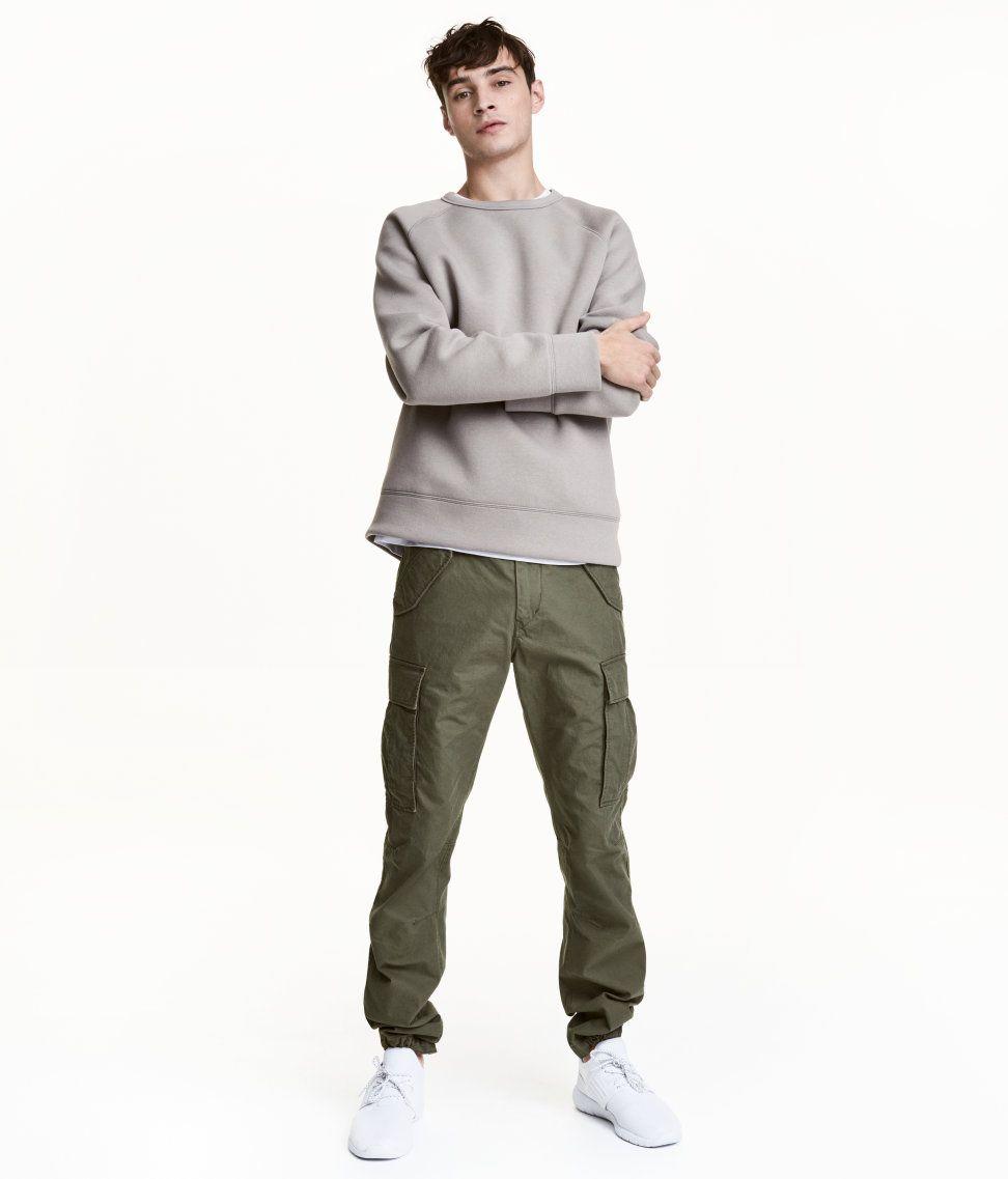 best collection unique design save up to 60% Cargo Pants | Khaki green | Men | H&M US | 1 Nessa's Board ...