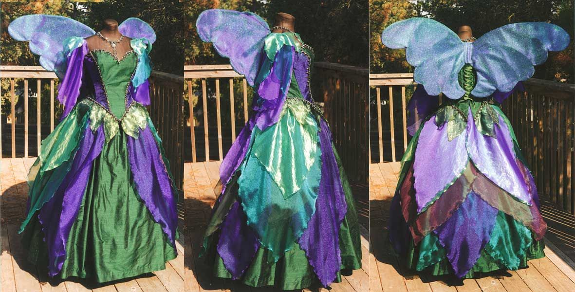 Gowns Pagan Wicca Witch: Elaborate Faery gown, by Star Dream Designs ...