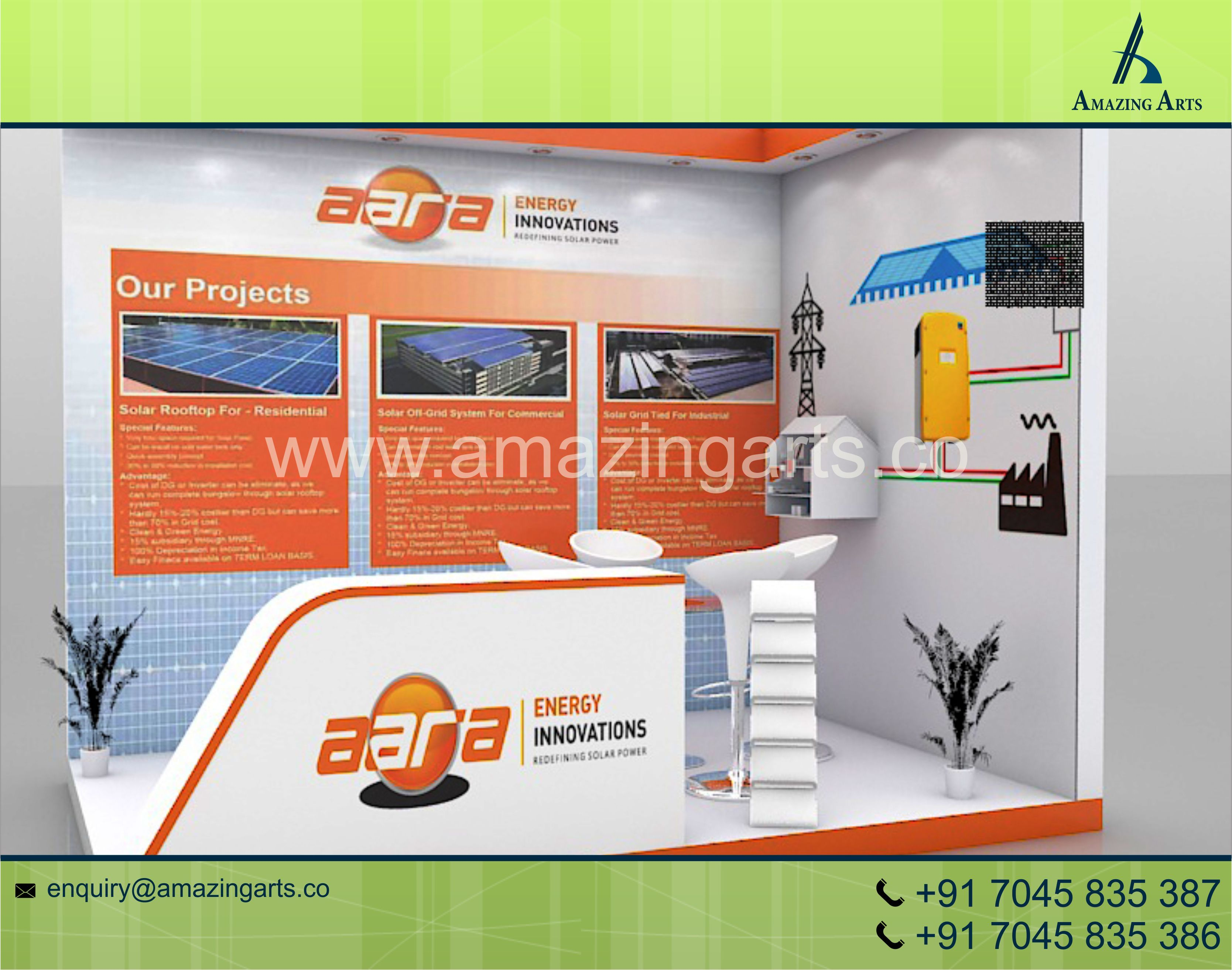 D Printing Exhibition Germany : Exhibition stall designer india