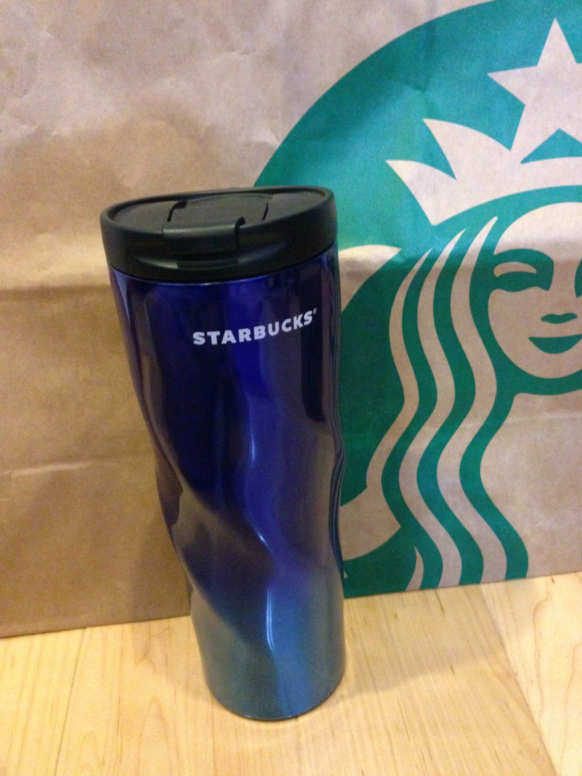 India Exclusive Starbucks Tumbler Blue Color Can Only Get