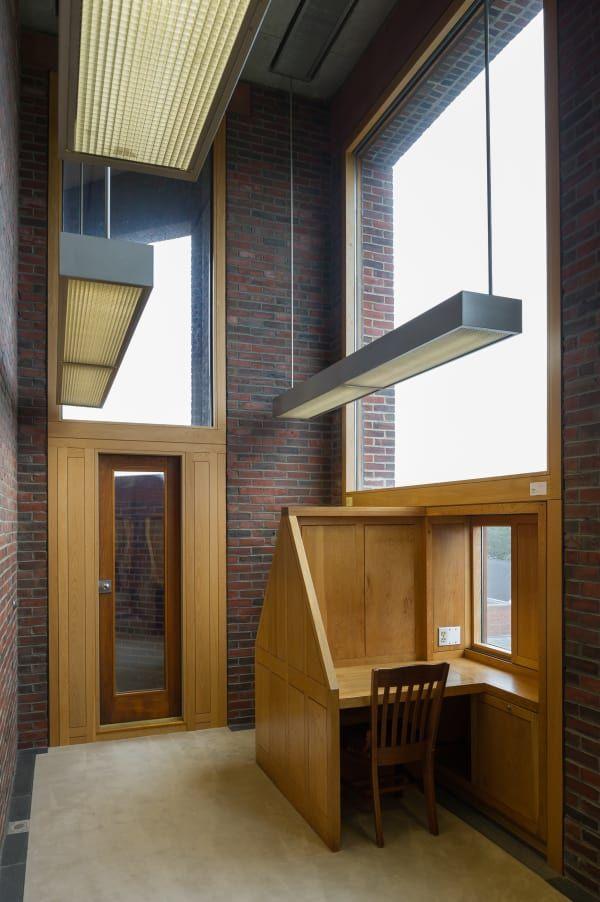 Louis i kahn xavier de jaur guiberry library at phillips exeter academy louis kahn - Arquitectos de interiores famosos ...