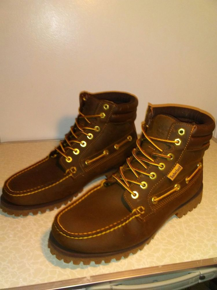 29863e1a2bc Timberland Oakwell 7 Eye Oil Based Leather Mens Size 10 ...