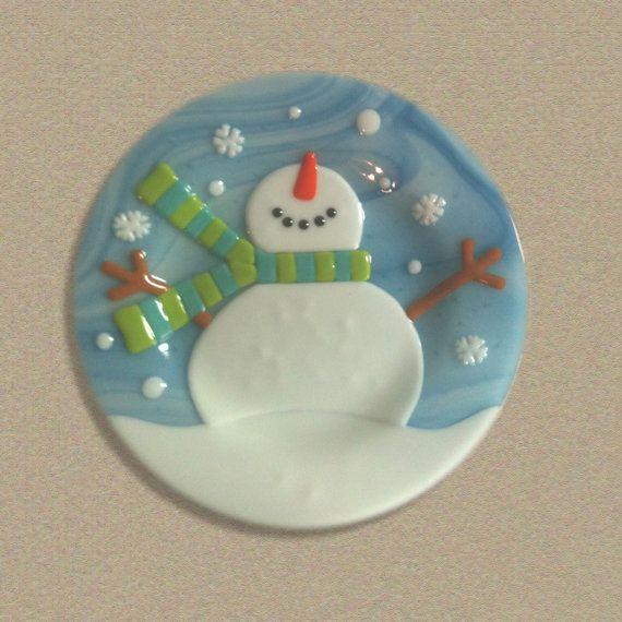 Let It Snow by LassenGlassWorks on Etsy, $50.00