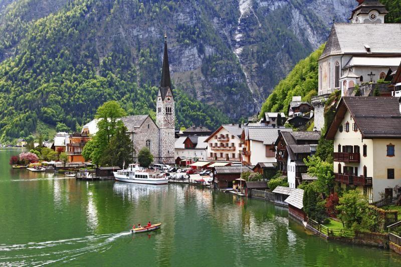 """""""Hallstatt, Austria"""""""
