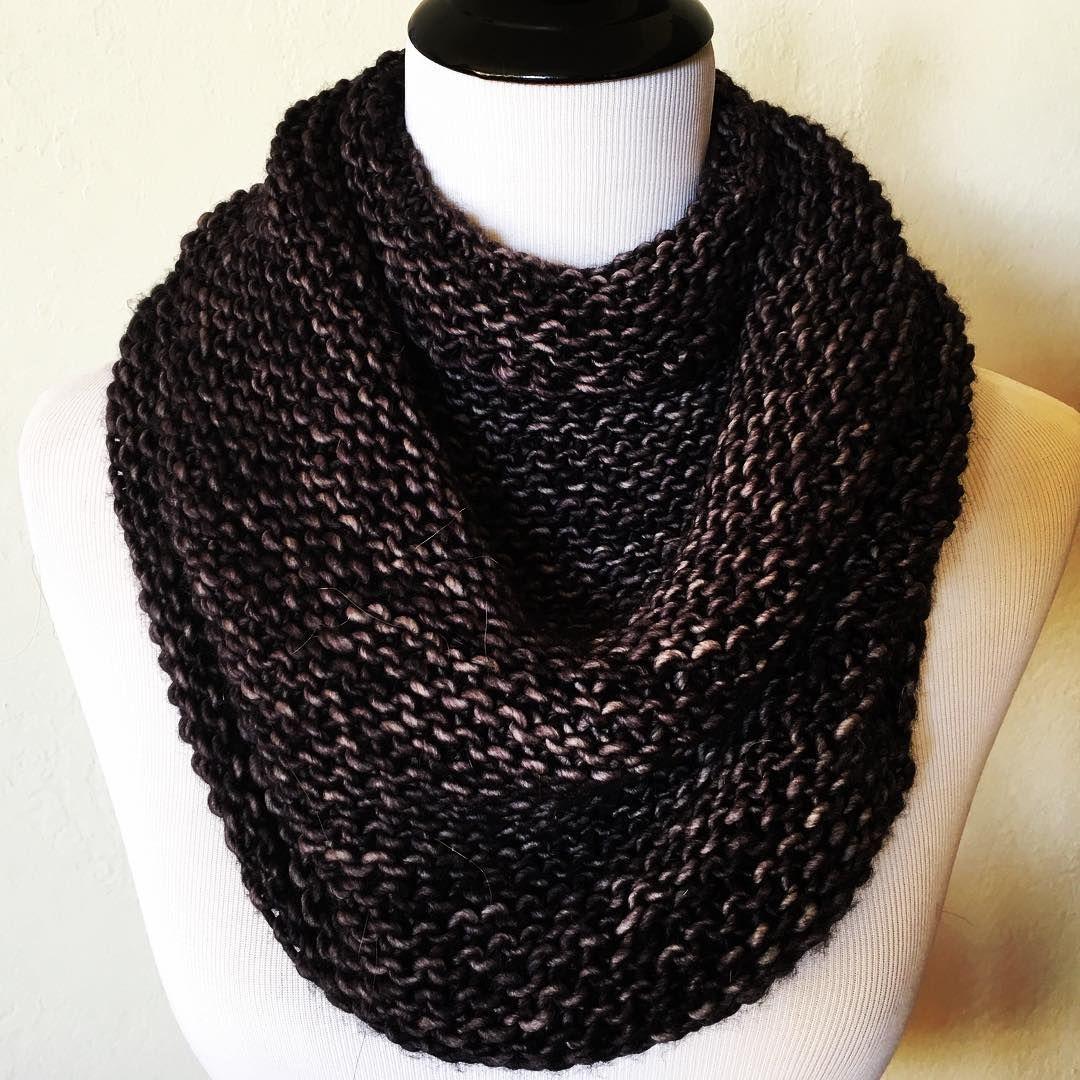 Cowl by @avenueyarns | malabrigo Mecha in Pearl Ten | Knitting ...