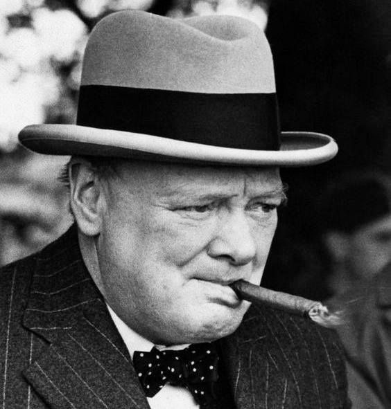 Winston Churchill: To improve is to change so to be perfect is to have changed often. #WinstonChurchill #HumanNote