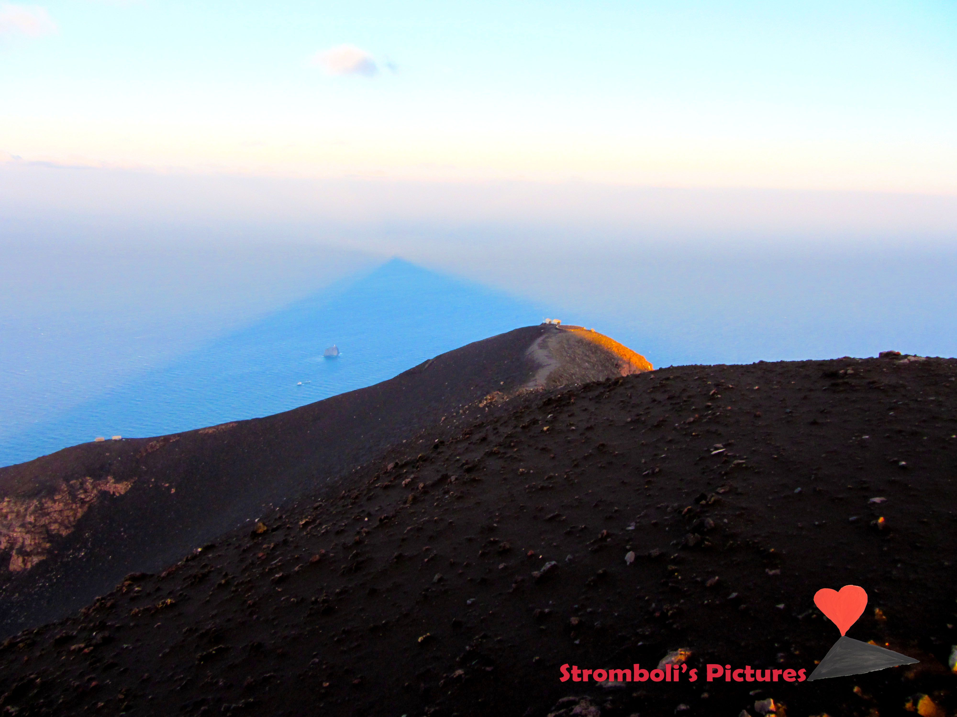 On the top of #Stromboli.