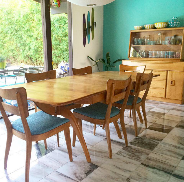 Vintage Mid Century Dining Rooms: Pin By Kiwimberly Kiwimberly On MCM Heywood Wakefield