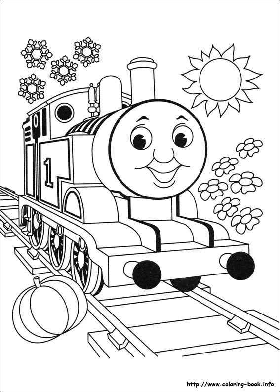 Thomas and Friends coloring picture Coloring for kid