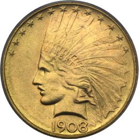 10 Gold Indian Head Coins Inexpensive Gold Coins Augustus Saint Gaudens Relief Sculpture