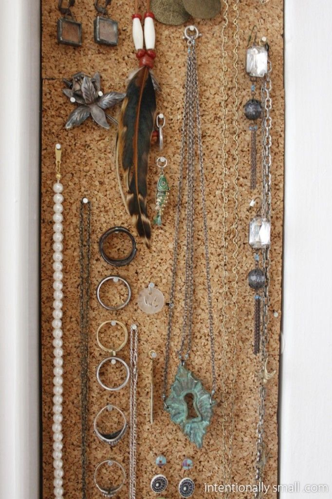 34 Ideas How To Store Your Jewelry Bulletin boardcork board jewelry