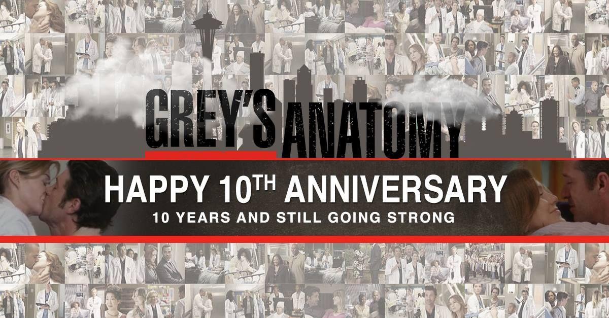 Grey\'s Anatomy Celebrating 10 Years & Still Going Strong! 2TU! | TV ...