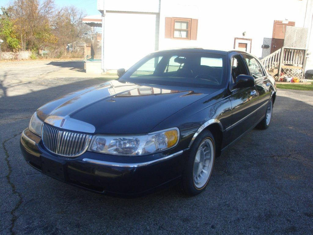 1998 Lincoln Town Car American Cars For Sale Pinterest Cars