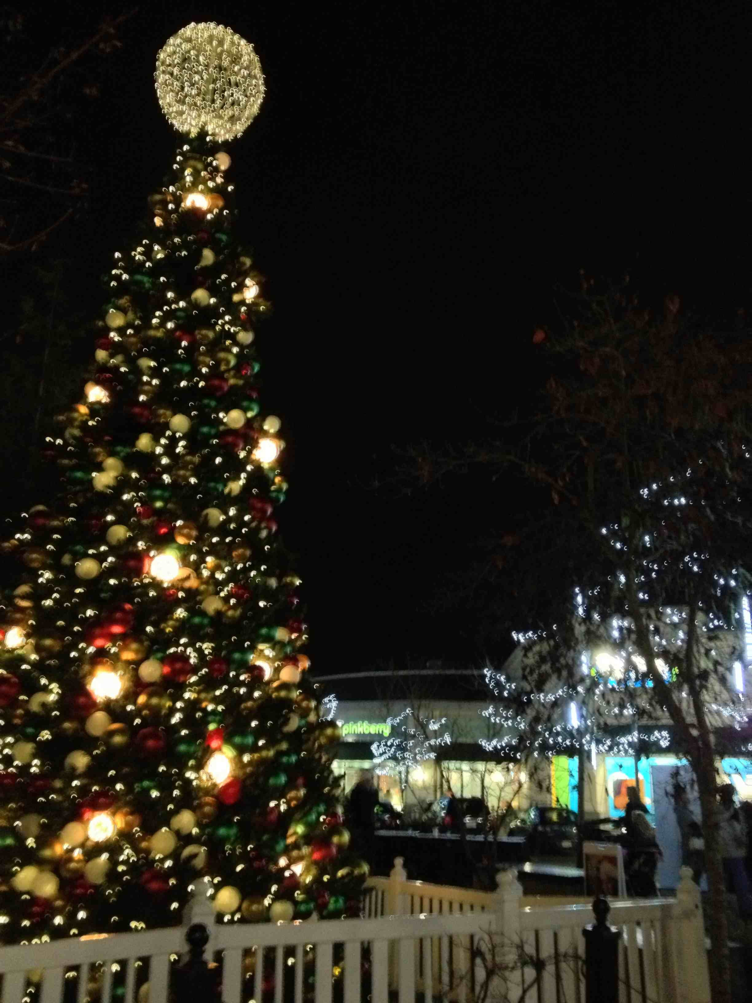 The Christmas Tree At Park Royal Village
