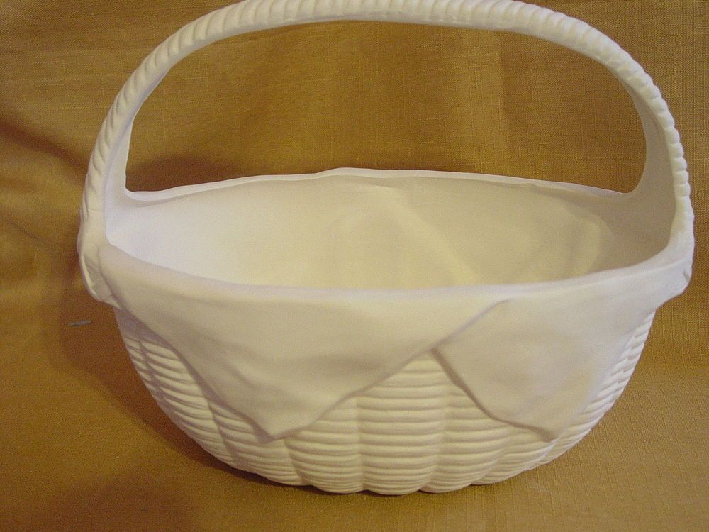 Paintable Ceramics | Ready To Paint Ceramic Bisque Weave Basket Visit Our  EBay Store | EBay