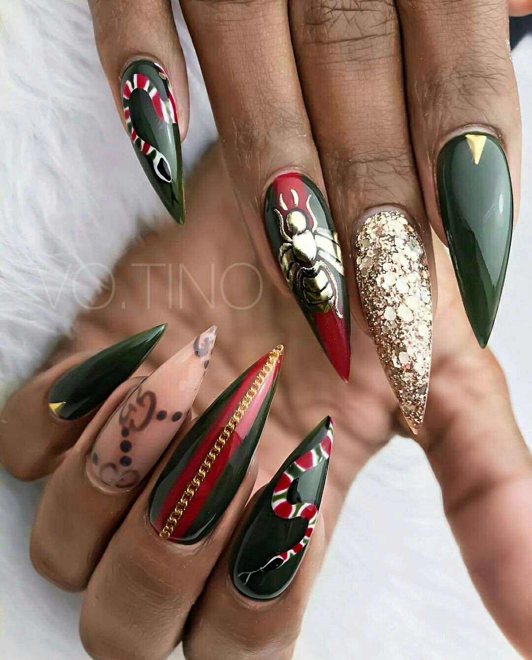 Pin by fatima on nails in pinterest nails nail designs and